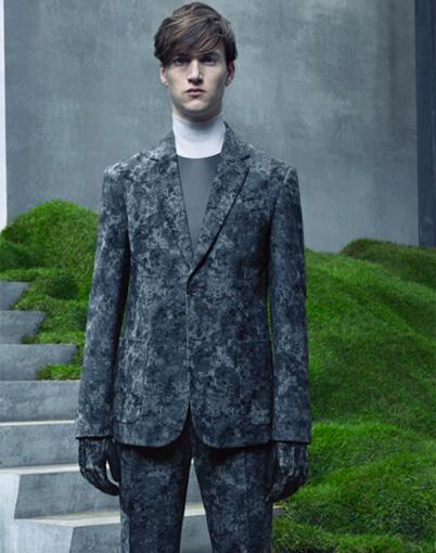 Balenciaga-Veste homme : Création et mise au point du patronnage de la veste