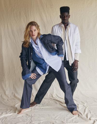 ADN PARIS-Développement patronnage jeans et chemise denim